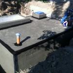 camin beton pentru statie de pompare club IDM bucuresti